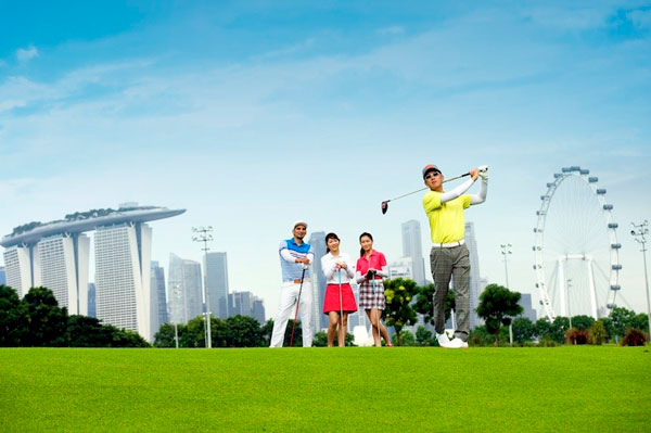 Sân Golf  Marina Bay Golf Cource ở Marina Bay