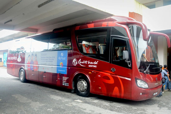Xe bus Genting Express