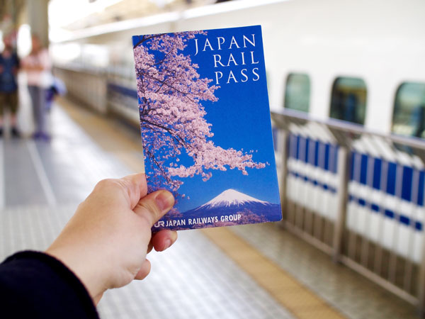 Vé Japan Rail Pass