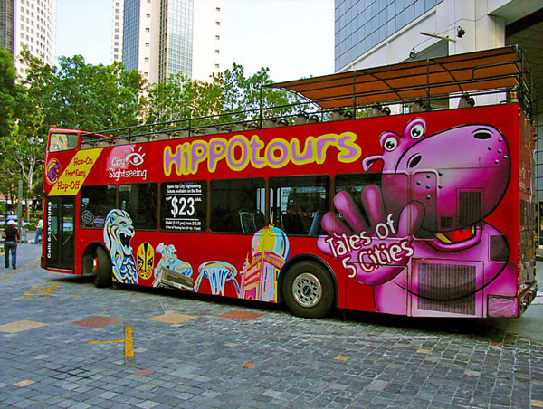 Hop On & Hop Off Bus Singapore
