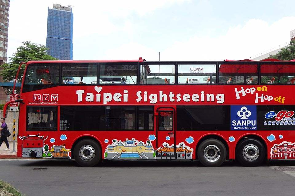 Vé Hop On Hop Off Đài Bắc (Taipei Double Decker Bus)