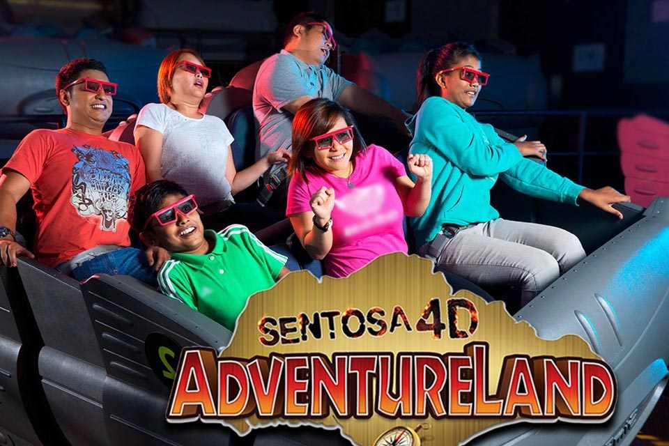 Vé 4D Adventure Land ở Sentosa, Singapore