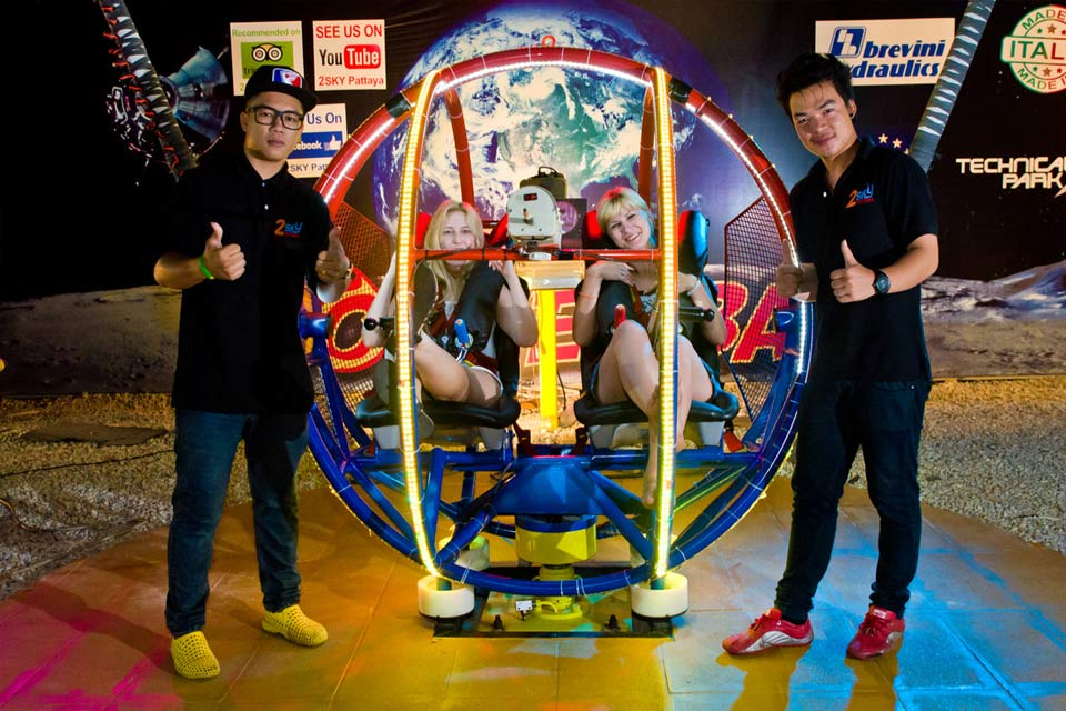 Vé 2Sky Pattaya Rocket Ball ở Pattaya